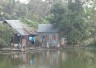 In Gopalgonj, Bangladesh, many families live very close to rivers which are prone to flooding during the monsoon season.