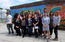 ICS volunteers got top tips from youth work professionals on how to sell the skills learned overseas. Photo: Allys Thomas/ICS