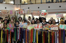 'Children and youth are agents of change, we call on you to call on us' – young people at the World Conference for Disaster Risk Reduction in March 2015.