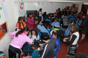 Just £20 could allow a YMCA to provide beauty classes for young men and women. Photo: Bogotá YMCA