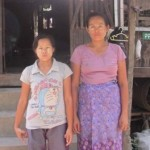 Sandi Hla (pictured left) has been educating her local community on their rights in the run-up to the election.