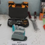 A start-up kit provided to a young person who completed their training in auto-mechanics. Photo: Alessandra Incerti/YCI